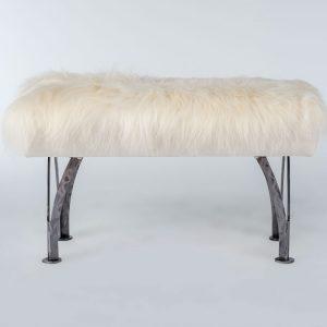 "3004 - 32"" Split Leg Bench (Icelandic Fur)"