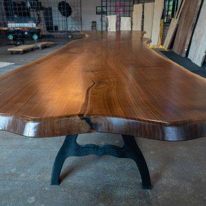 17.5′ Walnut Dining Table