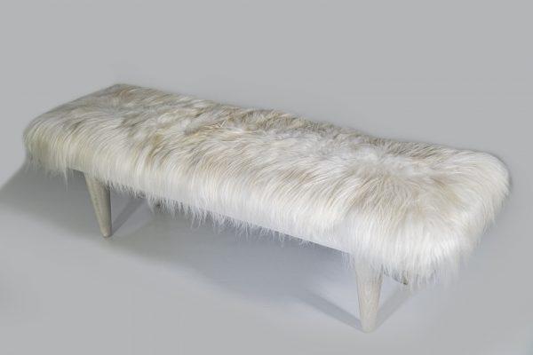 3002 – 60″ Icelandic Fur Bench