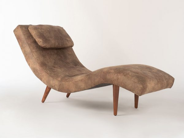 1933 Montaquila Oak Chaise Lounge