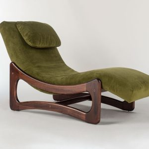 1924 Geordie Evergreen Chaise Lounge