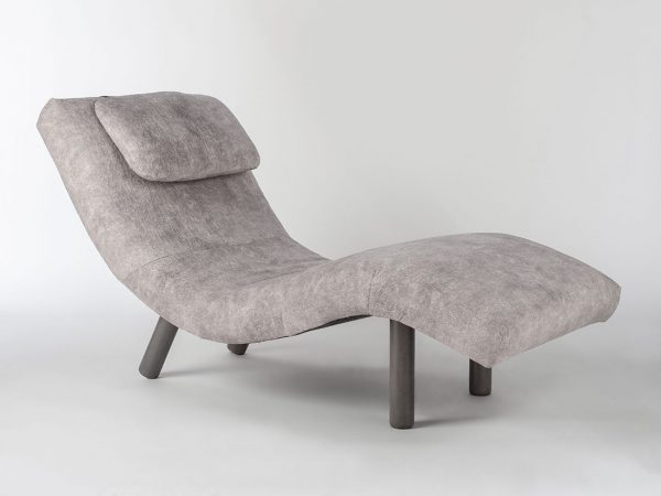 1920 Highlander Gray Chaise Lounge
