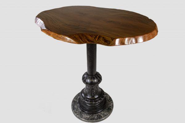 Antique NYC Lightpost Table