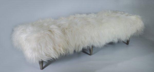 3002 – 84″ Icelandic Fur Bench