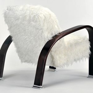 1905 Mongolian Fur Lounge Chair